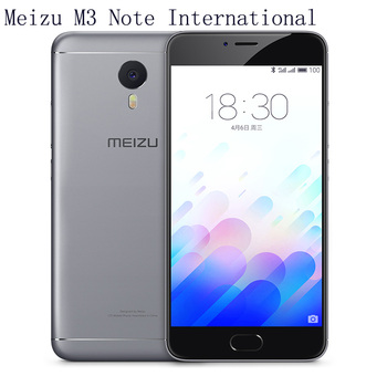Meizu m3 note international 16GB Grey Silver english packing eu plug mutil language great os