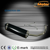 china stainless steel pipe manufacturers 70cc moped motorcycle carbon exhaust