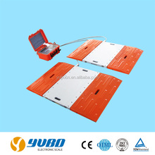 Static mobile portable vehicle weighing scales / weighbridge