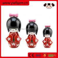 inexpensive japanese wooden kokeshi doll
