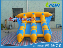 inflatable aqua flyfish raft /inflatable flying fish boat / inflatable towable flyfish