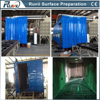 Containerised sand / shot blasting units (CE)