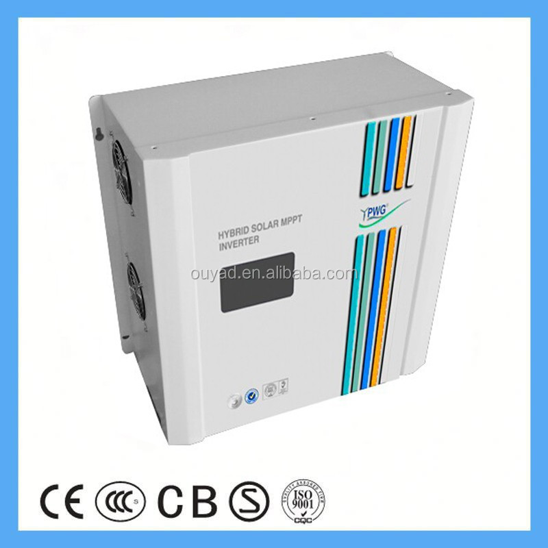 3kw solar inverter charger inverter 48v 220v 3200w pure sine wave solar power inverter with MPPT solar charger