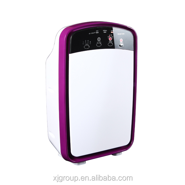 XJ-13702 with lonizer function and 35w timer setting indicating light air purifier china