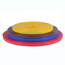 Shiny smooth TPU coated nylon webbing , polypropylene webbing