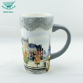 Hot selling new products paintable ceramics drinking mug