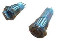 19mm Push Button Switch WITH LED