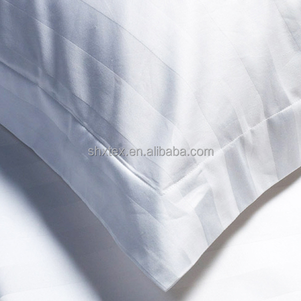 100%cotton factory price 1cm 2.54cm 3cm stripe hotel duvet cover