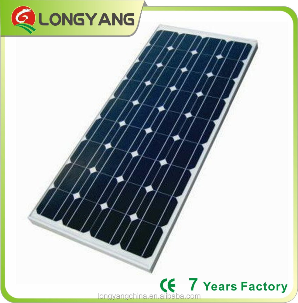 Mono150 watt solar panels manufacturer 30v PV solar panel for home system use