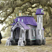 Newest halloween inflatable haunted house for sale