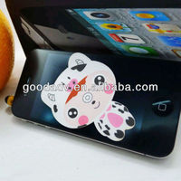 Animal face sticky phone screen/screen sticker cleaner for Mobile phone