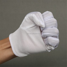 PVC dotted Anti Static Gloves/Lint Free Comfortable Excellent Sweat Absorbency /Polyester Glove Coated With PVC Dot