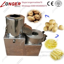 LONGER Machinery Carrot Washing And Cutting Machine Potato Peeling Machine