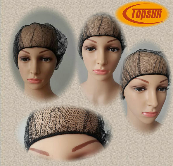 Disposable Black Nylon Hair Net