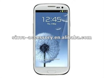High quality Anti-fingerprint Screen protector for samsung S3 i9300