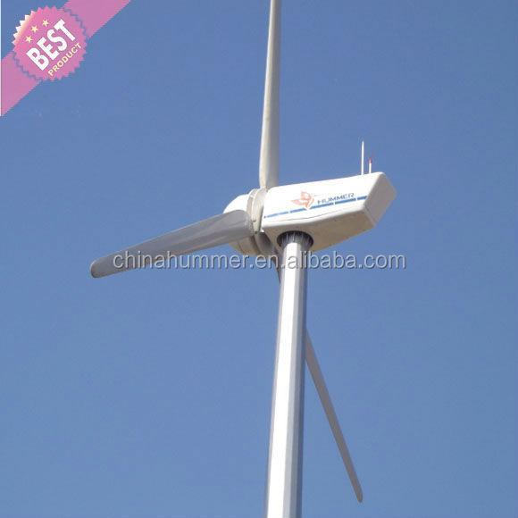 100kw wind turbine system for pump water with hydraulic tower
