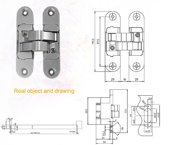 Beau 307 308. Productu0027s Advantages. K6200 Invisible Door Hinge ...