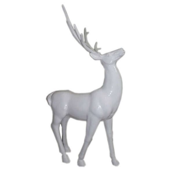 Christmas Decorative White Deer