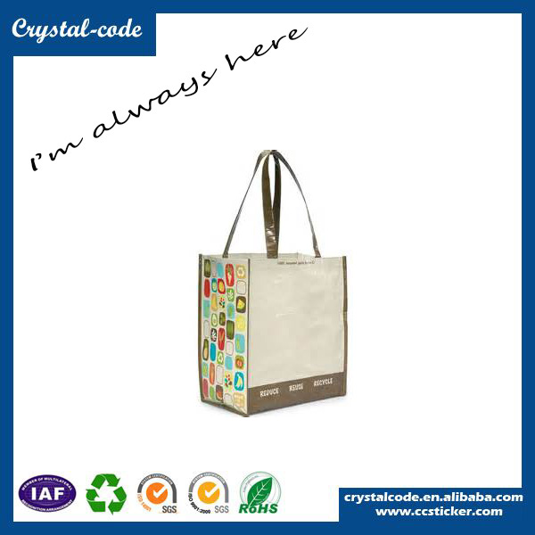 New Fashion Style Laminated pp Woven Non Woven Shopping Bag