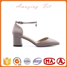 China factory women shoes wholesale fancy nice leather shoes women lady