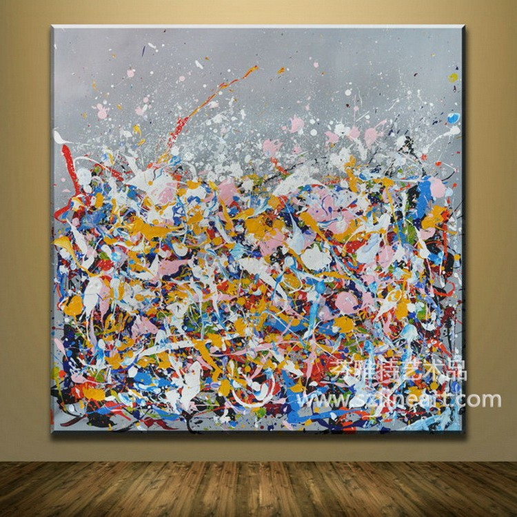 Jackson Pollock oil painting on canvas