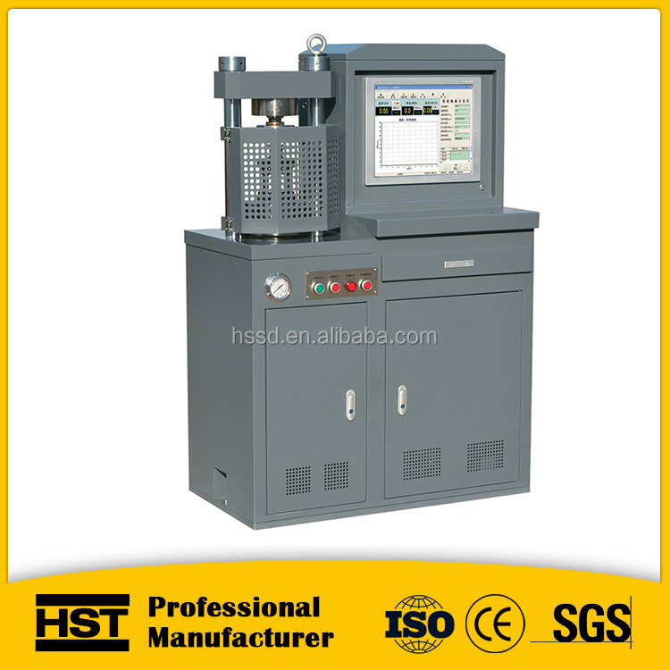 Iron ore pellet digital compression testing machine 300KN