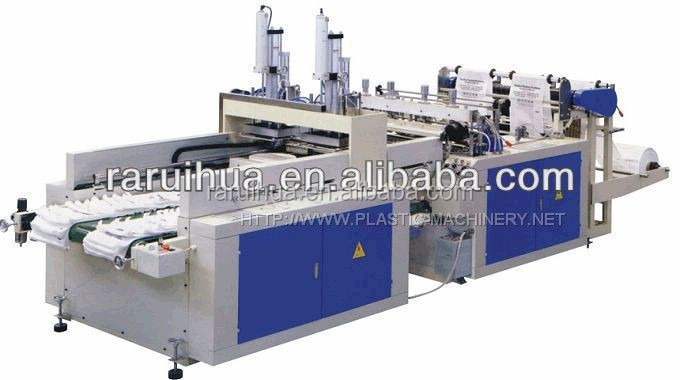 plastic rubbish bag making machine