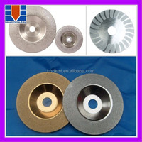 High quality vacuum brazed metal sanding discs