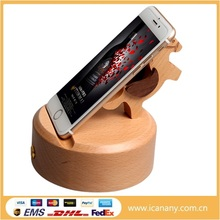 High Quality Reaction Mini Mutual Inductive Wooden Bamboo Speaker