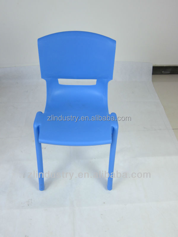 bright color plastic chairs