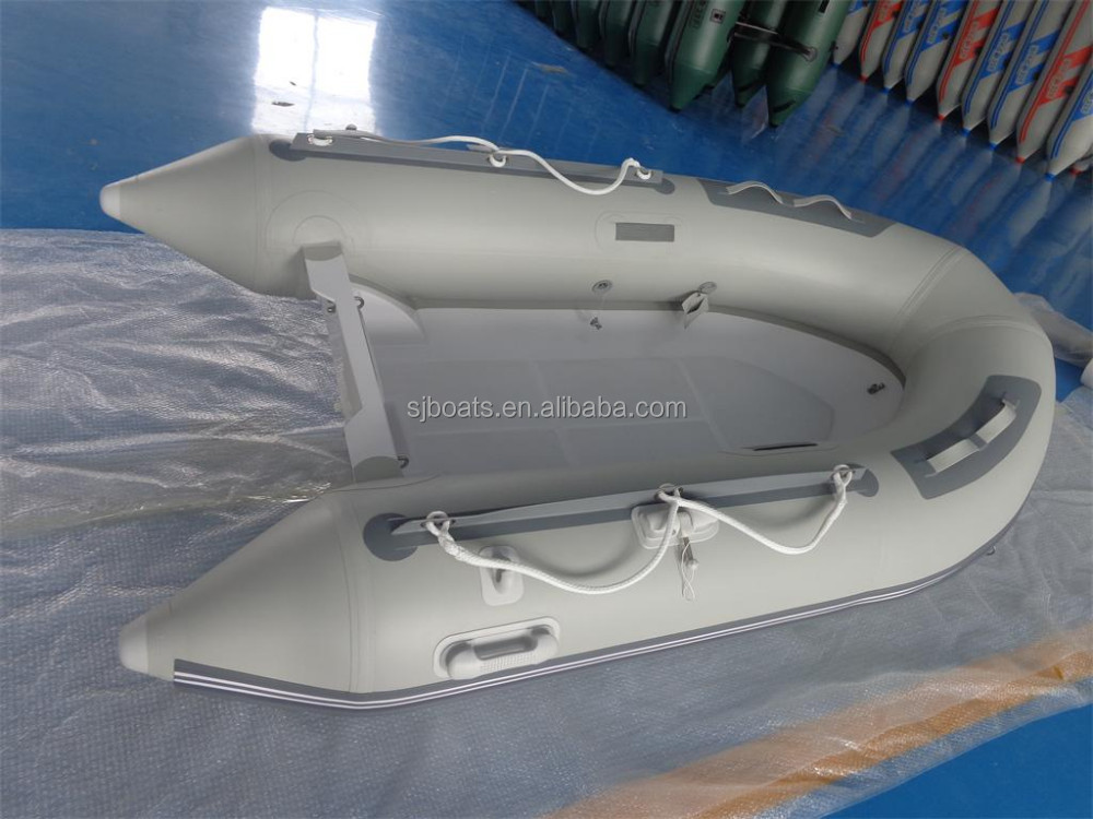 SANJ Fiberglass RIB Floor Inflatable Boat for sale