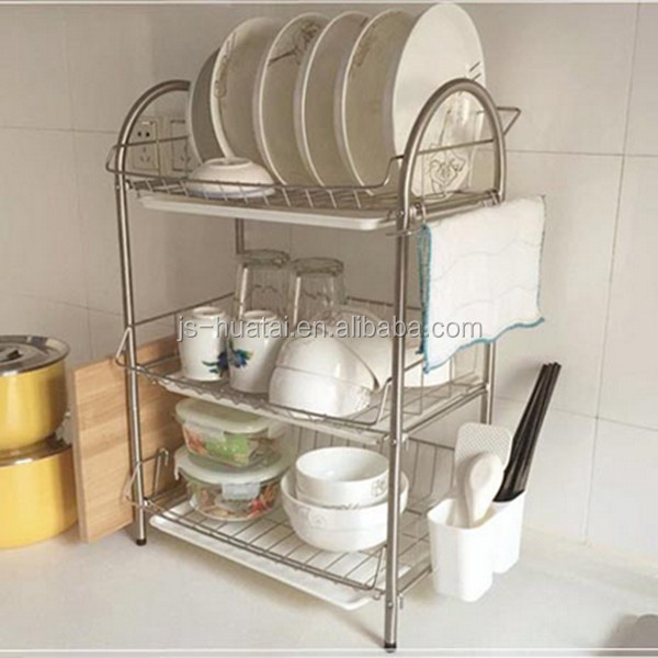 Kitchen Accessories Product ~ High quality kitchen accessories stainless steel dish rack