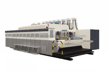 HX series 1828 vacuum transfer bottom printing die cutting machine
