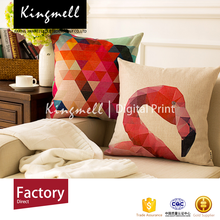 Wholesale custom Fashionable digital printed decorative throw pillow case