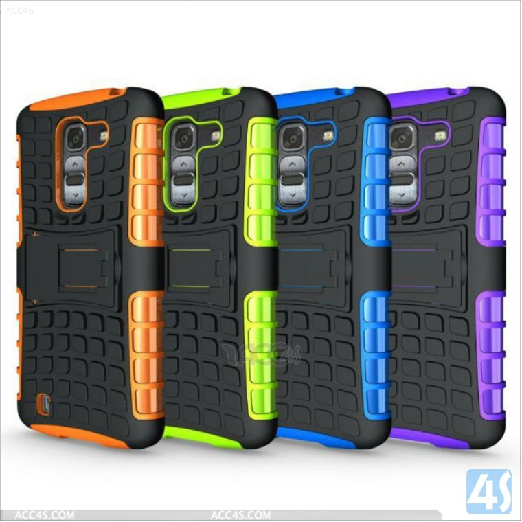 custom hybrid case for LG G Pro2 F350 3 in 1 Hybrid Plastic and Silicone P-LGF350HYBC001