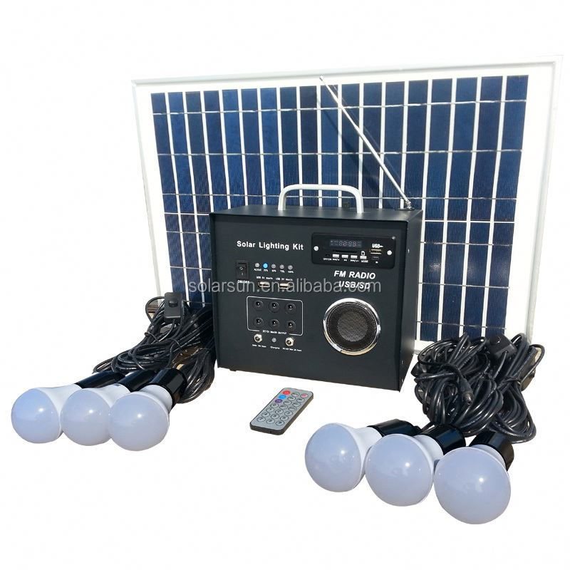 300w 500w solar inverter controller battery all in one portable solar power system,small solar lighting system home solar system