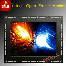 7 inch VGA open frame LCD monitor
