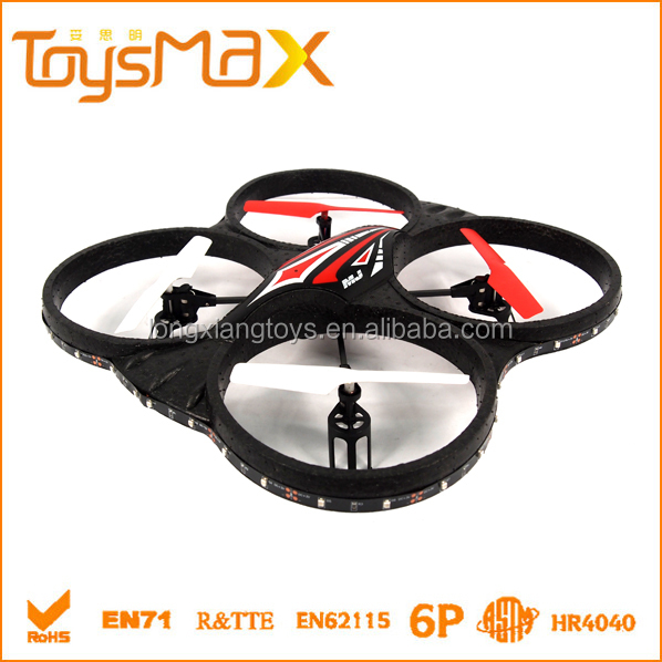 2016 Wholesale 2.4G Long RC Distance Four Axis remote control rc quadcopter
