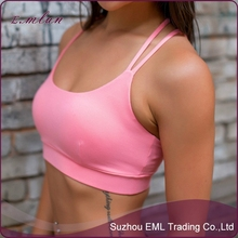 firm lifting nylon young lady running bra yoga underwear