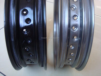 Colorful hot sale Motorcycle Steel Wheel Rim made in China