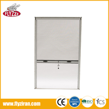 High quality rolling design aluminium profile fly screen for window