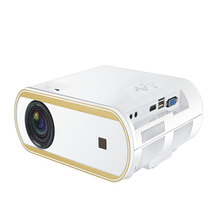 P6000 Portable Kid Mini Full HD LCD Story Projector with Hi-Fi Speaker 2400 Lumens For Home Cinema