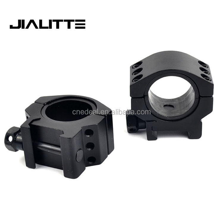 "Jialitte J277 Tactical AR15 Sight Accessories Picatinny Rail Rifle Scope Mount 1"" 30mm Scope Ring"