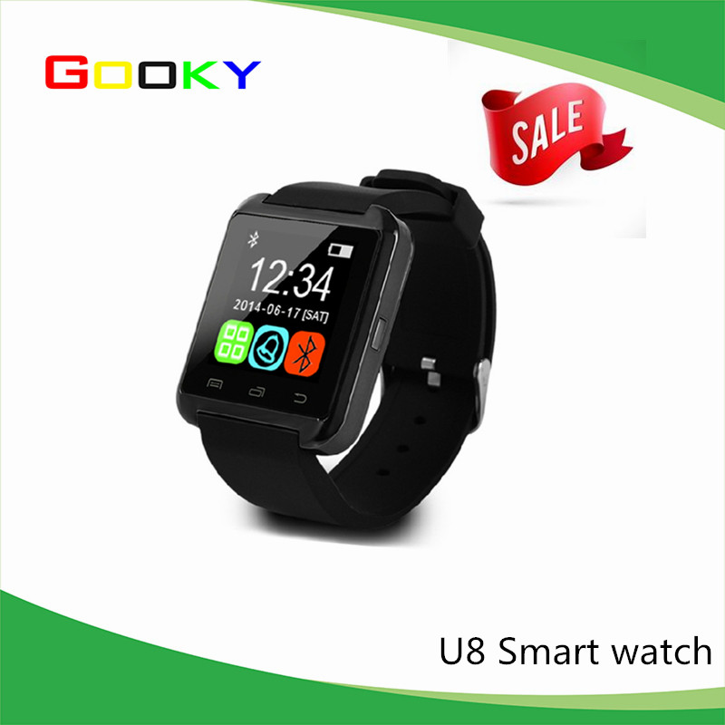 2016 factory wholesale smart watch china cheap smart watch bluetooth smart watch u8