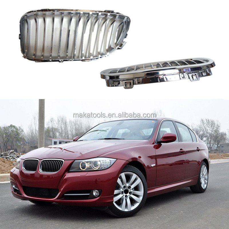For BMW 3Series E90 320I 2008-2012 Chrome Front Bumper Car Grille