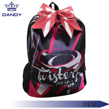 Australia cheerleading backpack cheers athletics bag with shoe compartment