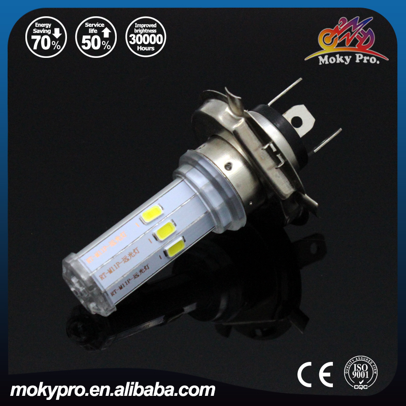 2016 new H4 headlight double size highlight for motorcycle