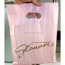 Your own brand Die Cut Handle Promotional Plastic Bag