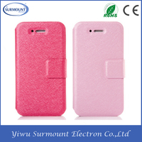 leather flip mobile phone protective shell for iphone4/4s/5/5s/6/6s