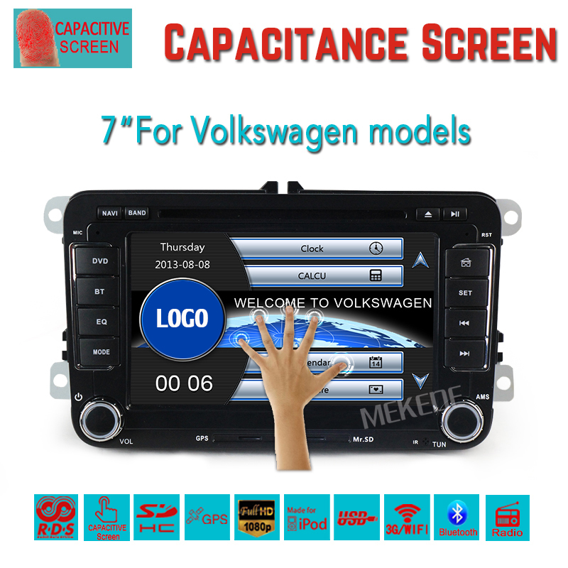 Factory price for 7 inch Volkswagen MAGOTAN/PASSAT/GOLF/TIGUAN/TOURAN/SKODA/SEAT/POLO/Golf 5/Golf 6 Car dvd player vw car radio